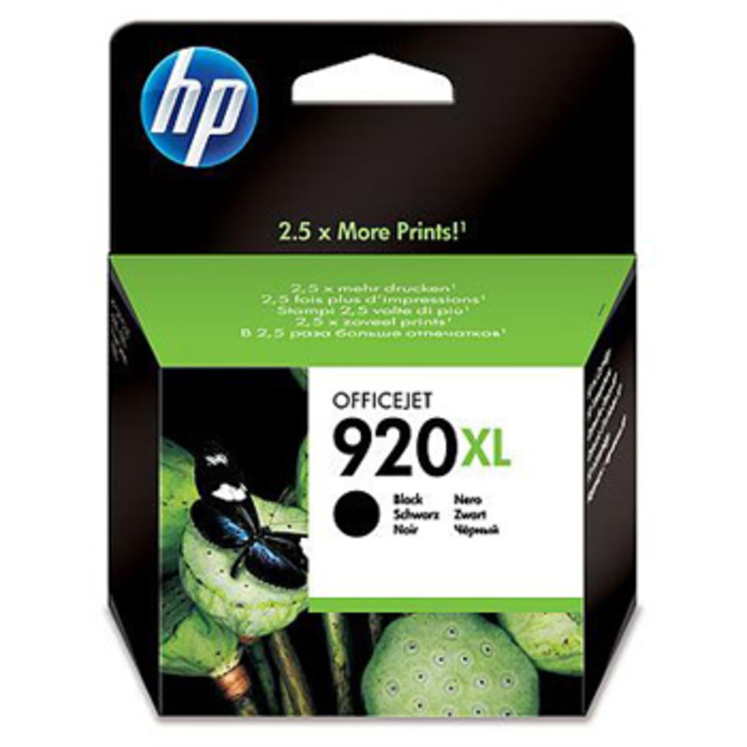 No920 XL officejet black ink cartridge