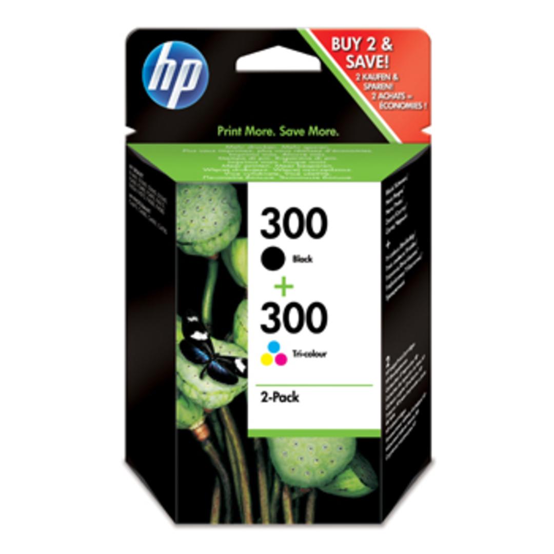 No300 black/color ink sampackblistered