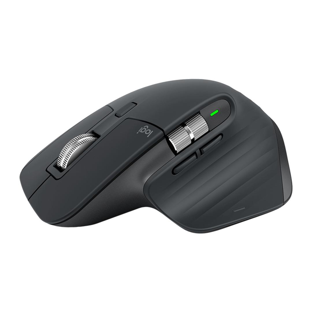 MX Master 3 Advanced Wireless Mouse, Graphite