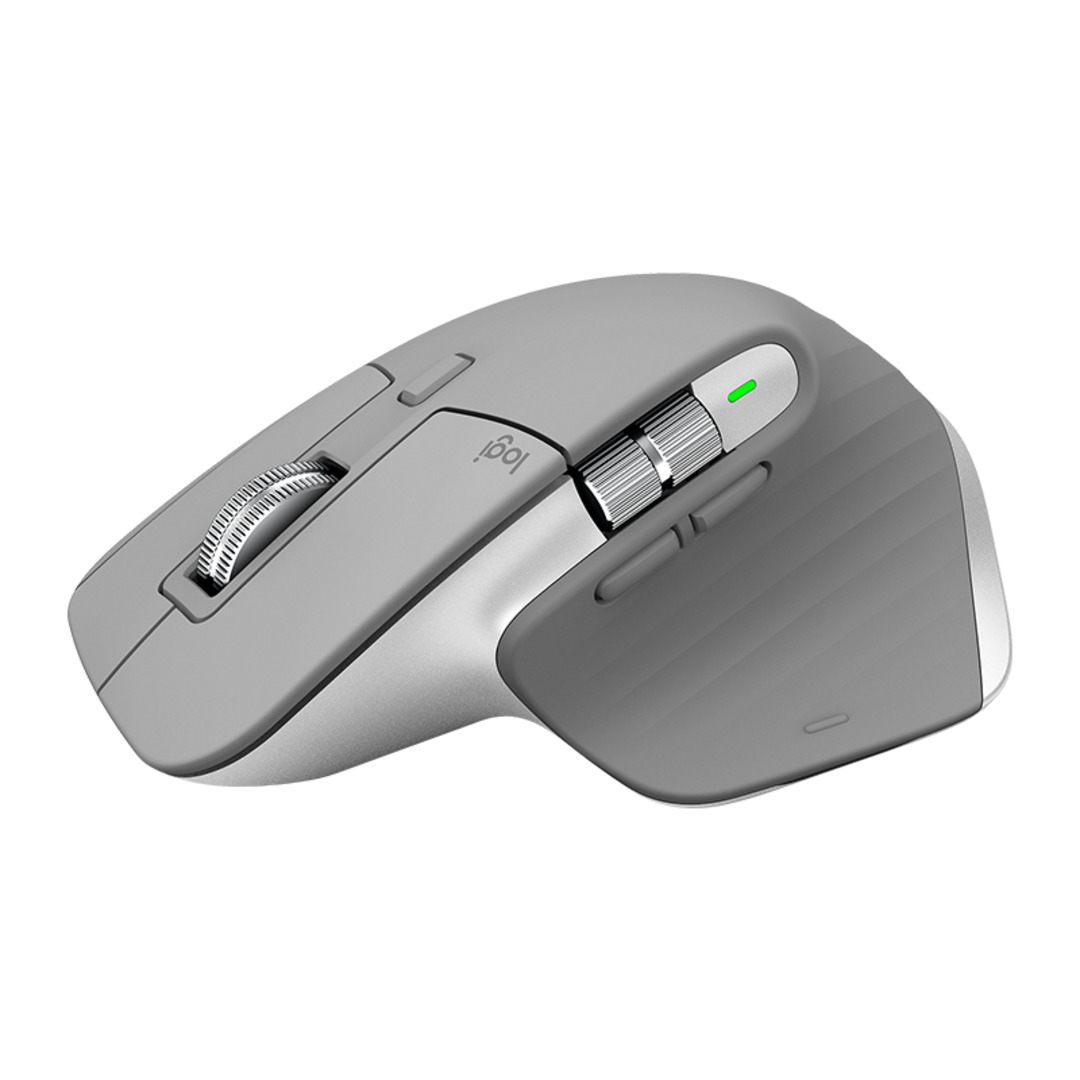 MX Master 3 Advanced Wireless Mouse, Mid grey