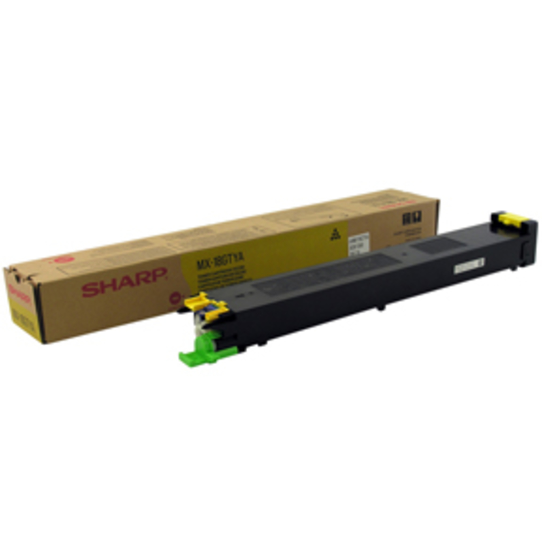 Sharp MX18GTYA MX1800 Yellow Toner 10K