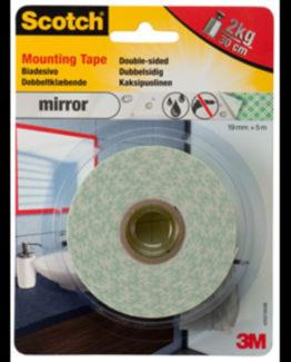 Scotch Mirror Mounting Tape 19mmx5m