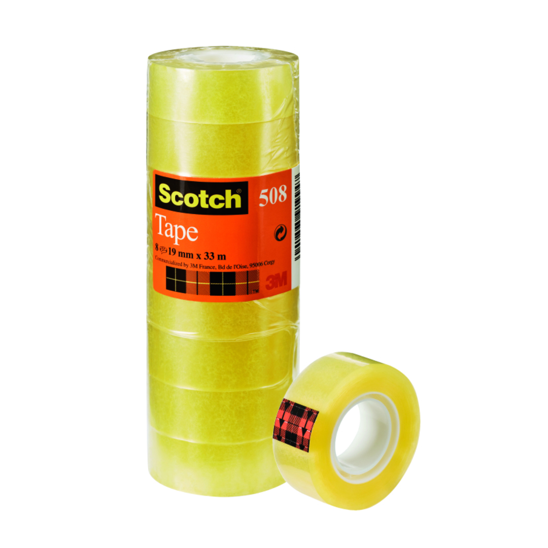 Tape Clear Scotch 508 19mmx33m