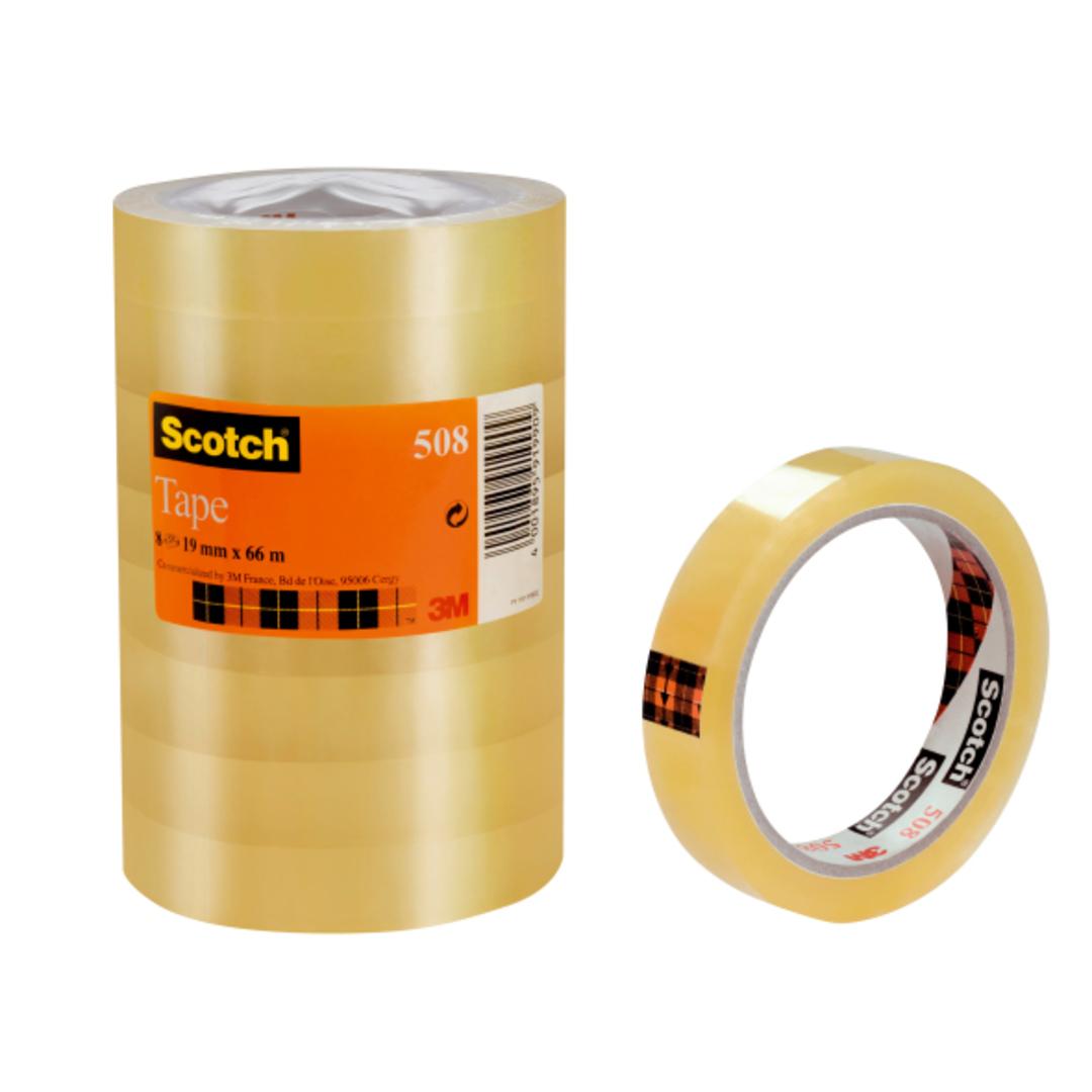 Tape Clear Scotch 508 66mX19mm