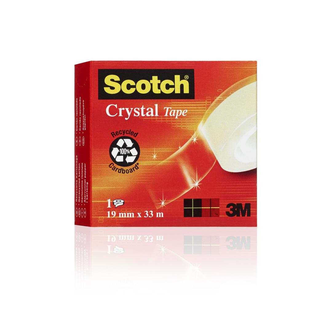Tape Scotch Crystal 19mmx3600