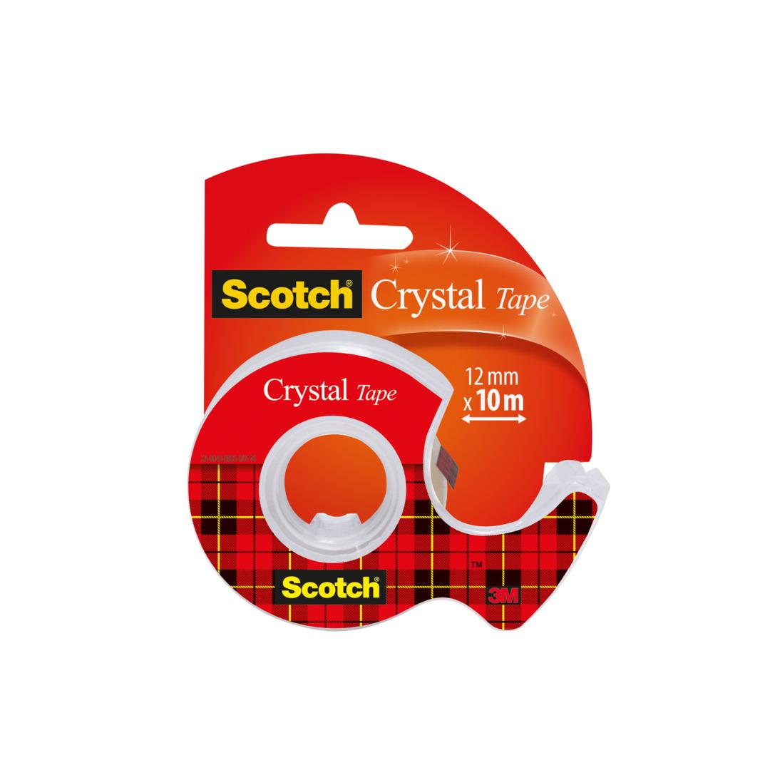 Tape Scotch Crystal 12mmx10m 1210D