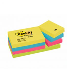 Post-it 653TFEN Notes 51x38 Energetic coloured (12)