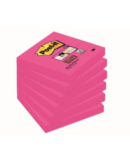 Post-It Super Sticky Fushia 76x76