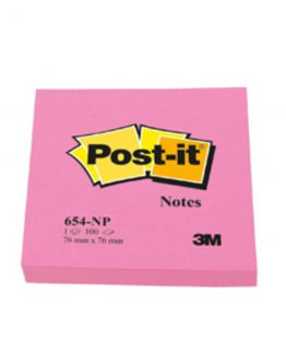 Post-It  654 76x76 mm, Cerise