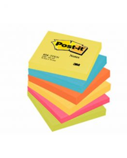 Post-it 654TFEN Notes 76x76 Energitic coloured (6)