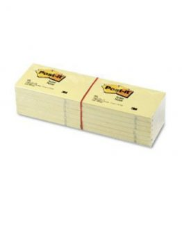 Post-it 655 Notes 76x127 yellow (12)