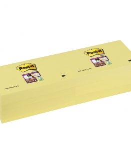 Post-It SuperSticky 76x127 yellow