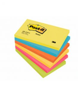 Post-it 655TFEN Notes 76x127 Energetic coloured (6)