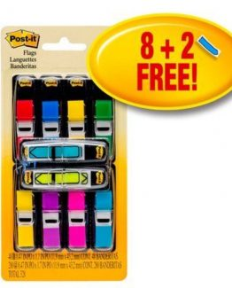 Post-it 683VAD1 Index Value Pack colored (8+2)