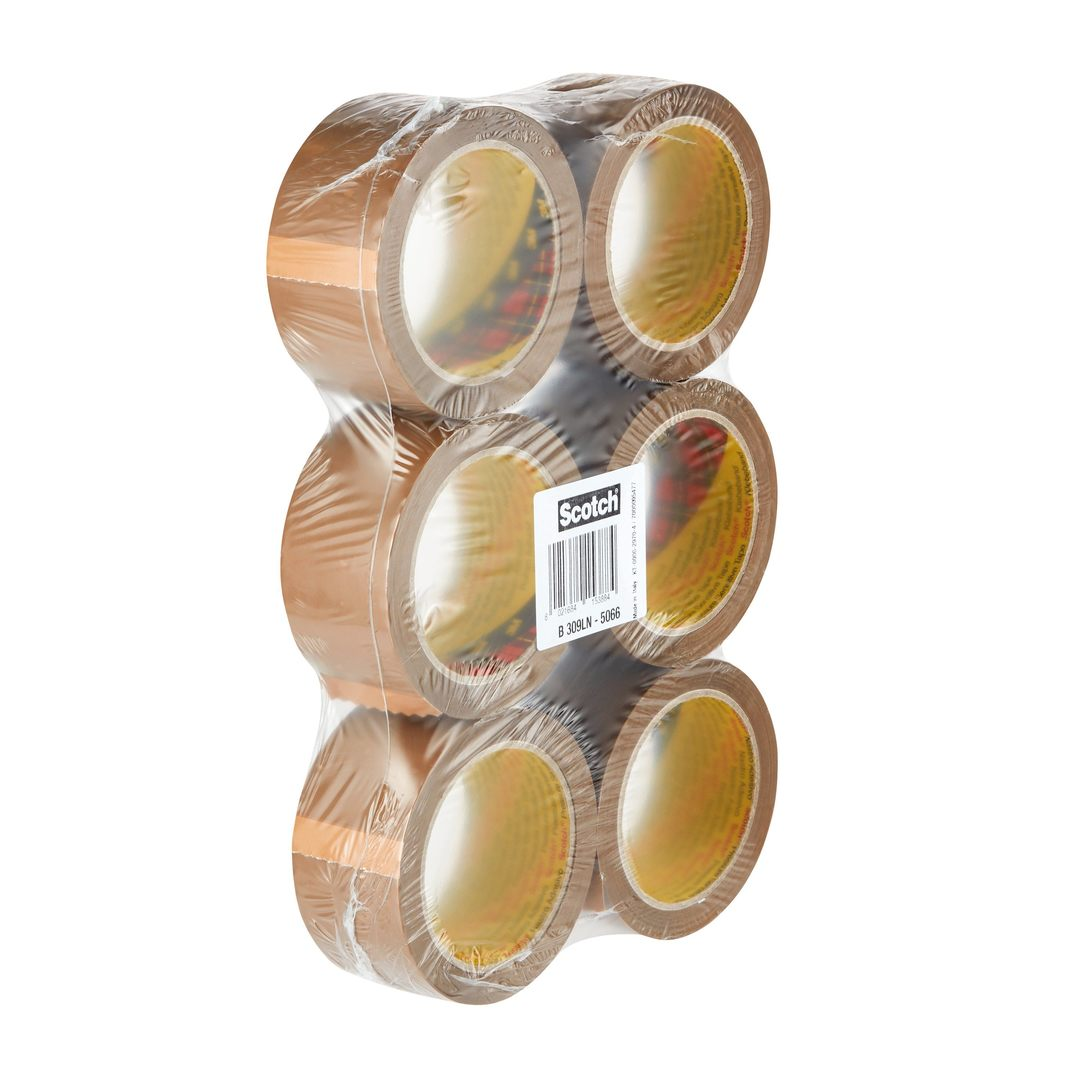 Packaging tape 309 Low Noise 50mmx66m brown (6)