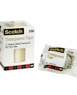 Scotch tape 550 12x66 transp flowpack