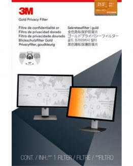 3M Privacy filter for desktop 21,5'' widescreen gold