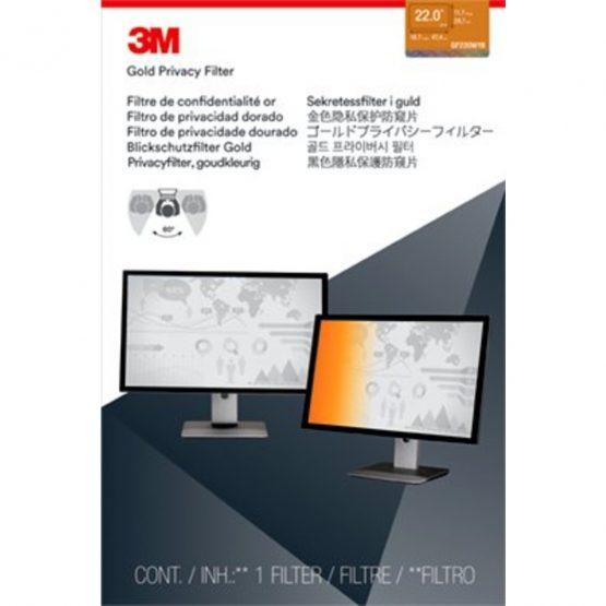 3M Privacy filter desktop 22,0'' widescreen gold (16:10)