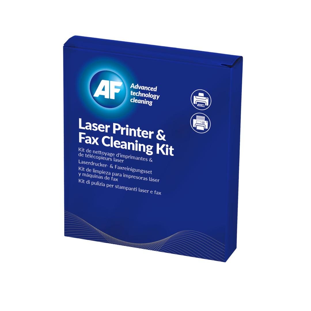 Laser printer cleaning kit