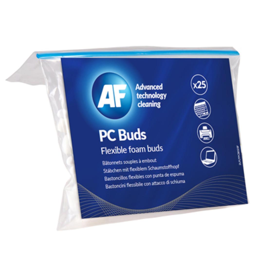 PC buds - Flexible foam cleaning buds (25)