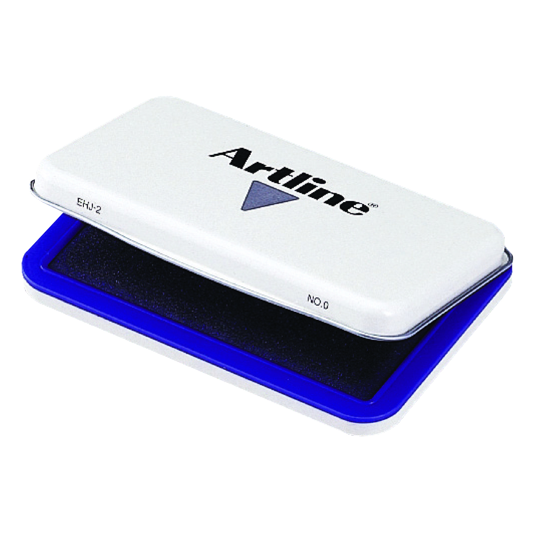 Stamp pad Artline NO.0 EHJ-2 blue
