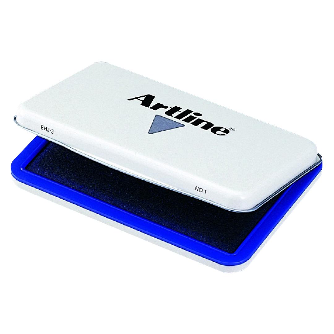 Stamp pad Artline NO.1 67x106mm blue