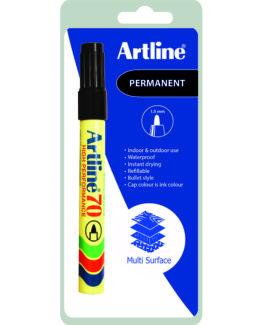 Artline 70 Permanent 1-Blister black
