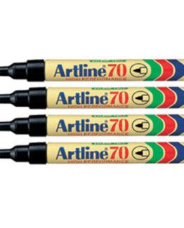 Artline 70 Perm black 4-P Blister =1 pcs