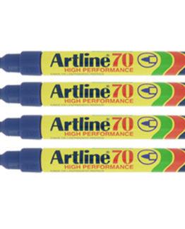 Artline 70 Permanent 4-Blister  blue