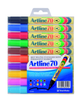 Artline 70 Permanent 10-pack assorted