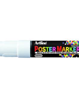 Artline EPP-6 Poster Marker white