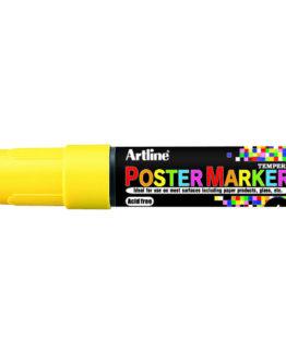 Artline EPP-6 Poster Marker fl. yellow