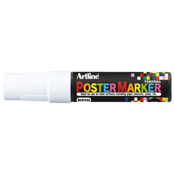 Artline EPP-12 Poster Marker white