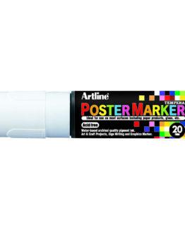 Artline EPP-20 Poster Marker white