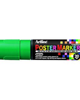Artline EPP-20 Poster Marker green