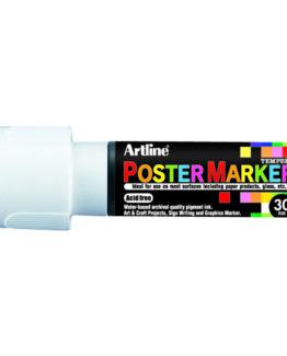 Artline EPP-30 Poster Marker white