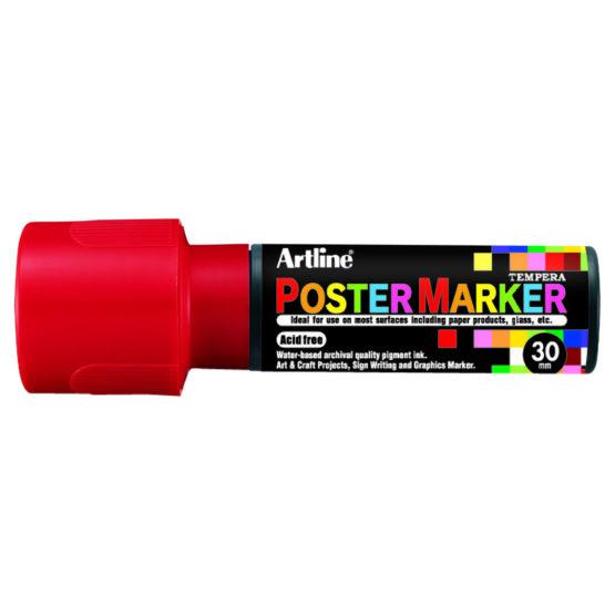 Artline EPP-30 Poster Marker red