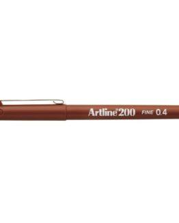 Fineliner Artline 200 brown