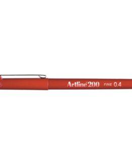 Fineliner Artline 200 red