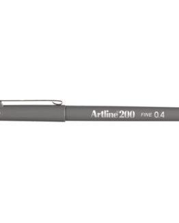 Fineliner Artline 200 grey