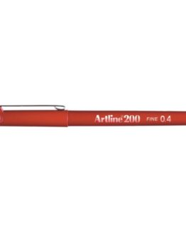 Fineliner Artline 200 dark red