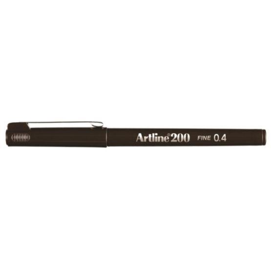 Fineliner Artline 200 Fine 0.4 dark brown