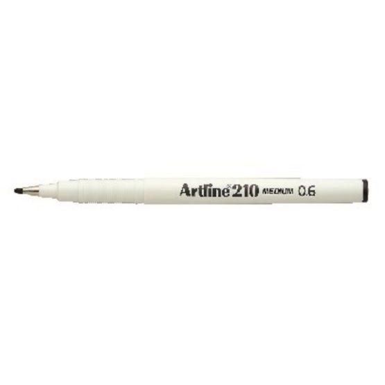 Fineliner Artline 210 broad 0.6 black