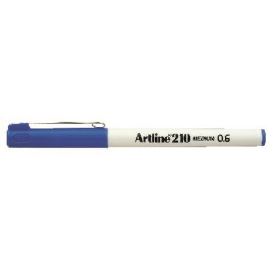 Fineliner Artline 210 broad 0.6 blue