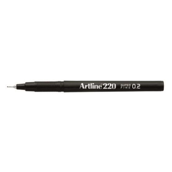 Fineliner Artline 220 SF 0.2 black