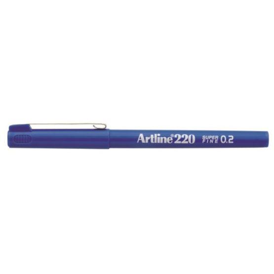 Fineliner Artline 220 SF 0.2 blue