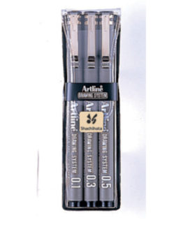Artline 230/3W1 black 3/e