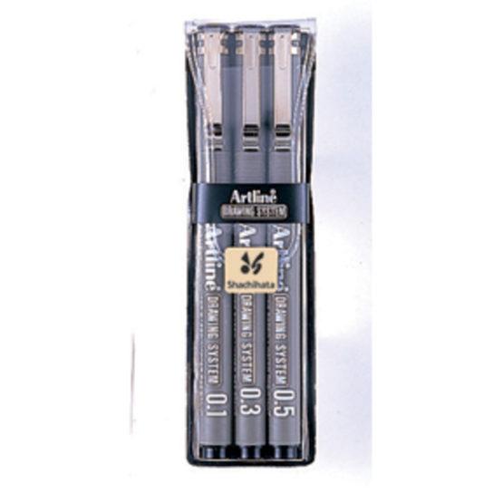 Artline 230/3W1 black 3/e