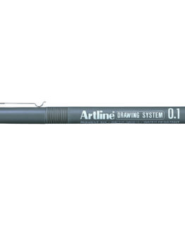 Artline 231 Drawing red