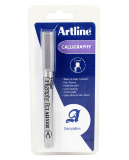 Artline 993 Calligraphy silver New 1-Blister